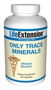 Life Extension Only Trace Minerals | 90 capsules ( Multi-Pack)