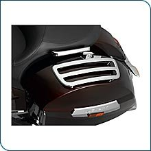 Victory Cross Country Roads Chrome Saddlebag Lid Rails