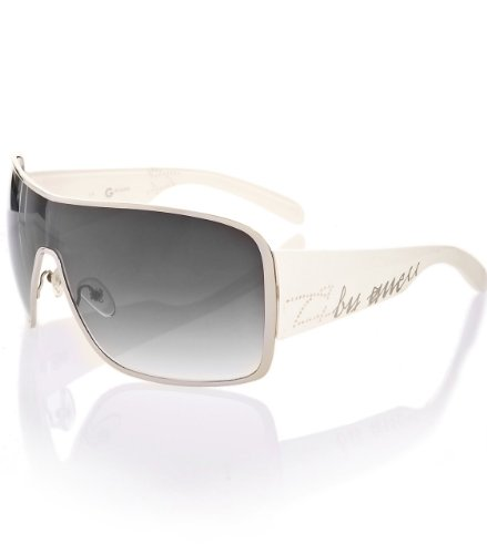 G by GUESS Metal Large Sunglasses  Script Templ,