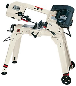 Jet 414458 HVBS-56M 5-by-6-Inch 1/2 HP Horizontal/Vertical Bandsaw