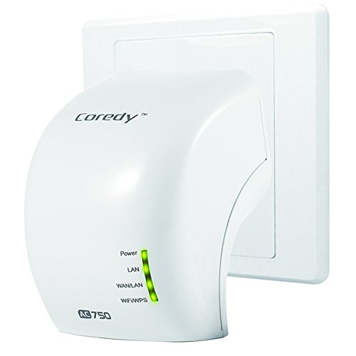 Coredy AC750 Mini Dual Band WiFi Range Extender/ Access Point (AP)/ Router (Coredy WD750) (Wifi Range Extender Comcast compare prices)