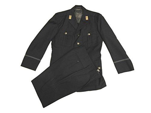 中古 旧型警察制服 警察庁タイプ・合 上下セット 巡査階級章付き