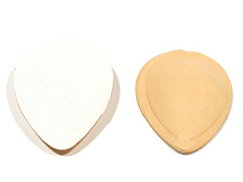 Rema Leder Pelotte in Tropfen und T-Form (Größe 2, Tropfen-Form)