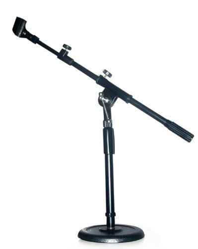 Desk / Drum Adjustable Mic Boom Stand - Microphone Stand Mc-11