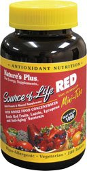Nature'S Plus - Source Of Life Red Mini-Tabs 180