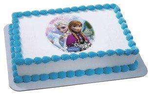 Frozen Cake Decorations Birthday Girls Wikii