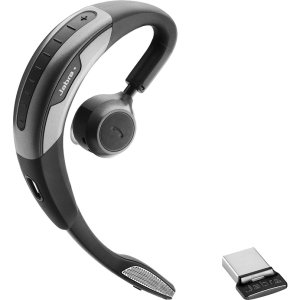 Jabra Motion Uc Ms Jabra Motion Uc Bt Headset For Microsoft Lync Mono - Wireless - Bluetooth/Nfc - 328.1 Ft - Behind-The-Ear - Monaural - Outer-Ear - Noise Filtering Microphone
