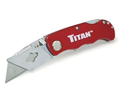 Titan folding pocket utility knife