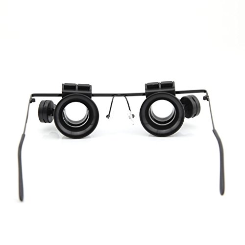 20X Watch Repair Loupe Magnifier Magnifying Glasses With Led Light