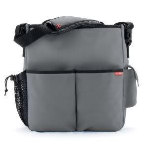 Extraordinarily Durable Skip Hop Duo Essential Diaper Bag With Cushioned changing pad - Gray Nourrisson, Bébé, Enfant, Petit, Tout-Petits