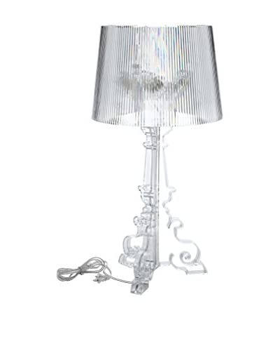 Modway French Table Lamp, Clear