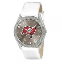 Ladies Jewelry NFL Tampa Bay Buccaneers Glitz Silver Watch by NFL