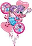 Sesame Street Abby Cadabby Birthday Party Supplies Balloon Bouquet