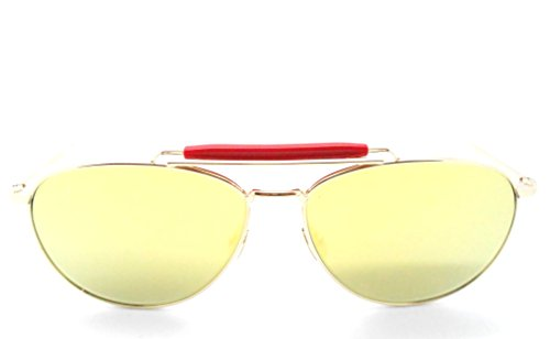 thom-browne-tb-015-ltd-gold-oversized-aviator-sunglasses-with-mirrored-lenses