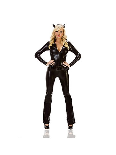 Mystery House Women's Cat Burglar Jumpsuit