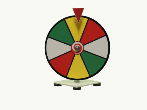 New 12 Inch Dry Erase Spinning Prize Wheel