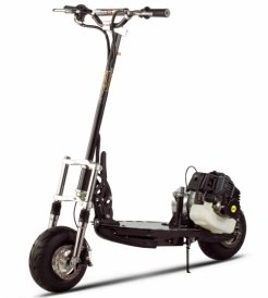 X-Treme Xg-555 Electric Starting Gas Scooter (Black)