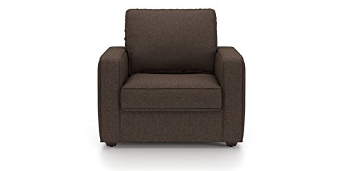 Urban Ladder Apollo Compact Single Seater Sofa (Mocha)