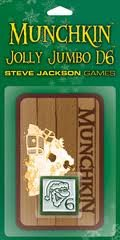 Munchkin Jolly Jumbo D6 Red Card Game