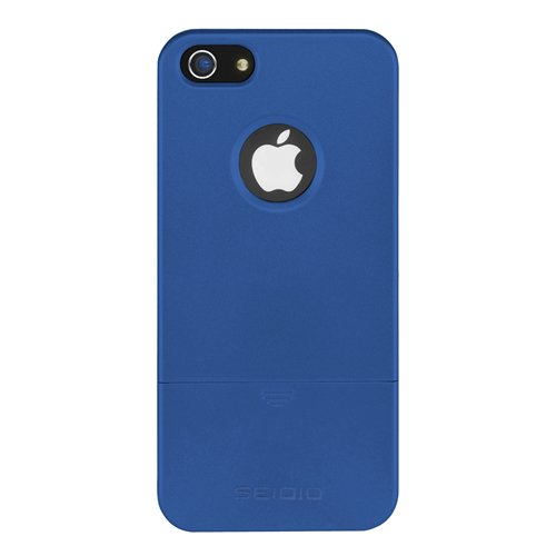 Best Price Seidio CSRSIPH5-RB SURFACE Reveal Case for Apple iPhone 5 - 1 Pack - Carrying Case - Retail Packaging - Royal Blue