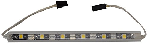 I-Lighting Uc1030 W Cw Iluma 10Mm Indoor/Outdoor Light Strip With Clear Led, 30-Inch, White