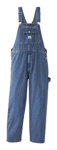 Walls Liberty Relaxed Washed Denim Bib Overalls 40X34 front-953303