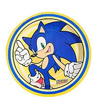 Sonic the Hedgehog Small Paper Plates (8ct)
