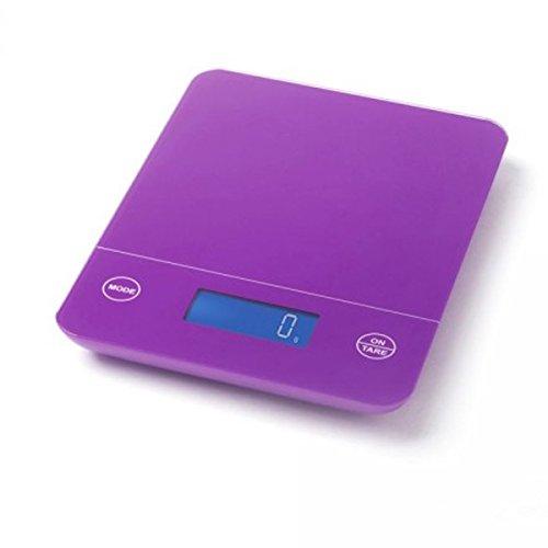 Little balance - 8017 - Balance de cuisine électronique 5kg - 1g prune caro+