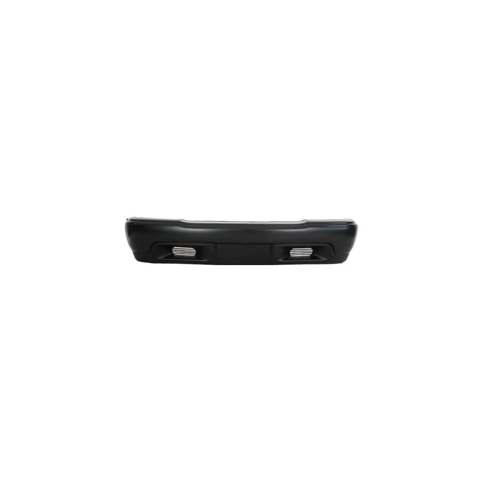 CarPartsDepot, Front Bumper Facial Cover Primed w/o Fog Hole 2WD Replacement, 352 19669 10 GM1000557 12377119 Automotive