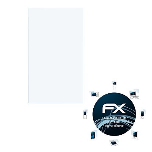 atFoliX Displayschutzfolie Philips 37PFL7605H/12 Schutzfolie - FX-Clear kristallklar
