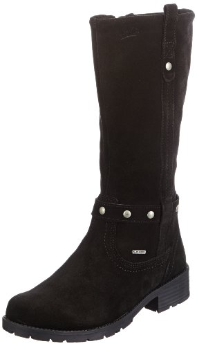 Superfit Girls Heel Biker Boots Black Schwarz (Schwarz Multi 03) Size: 40