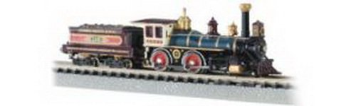 Bachmann 4-4-0 American Locomotive And Tender - Union Pacific #119 - N Scale front-510484