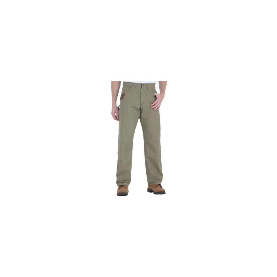 wrangler riggs mens ripstop carpenter jeans 33 x 36 tan on popscreen