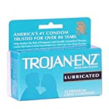 Trojan-enz Lubricated Condoms - 12 Pack