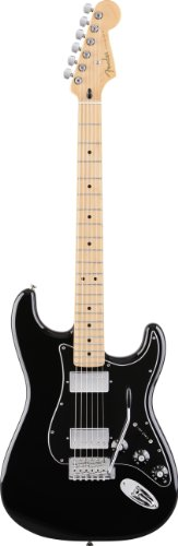 Fender Blacktop(TM) Stratocaster® HH Electric Guitar, Black, Maple Fretboard