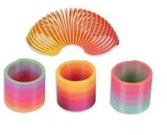 Kids Rainbow Coil Spring 35mm (1 Dozen)