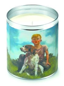 Aunt Sadie's A Boy And His Dog Candle (Grass Scent)
