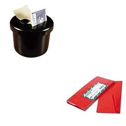 KITLEE40100QUA11134 - Value Kit - Quality Park Colored Envelope (QUA11134) and Lee Ultimate Stamp Dispenser (LEE40100)