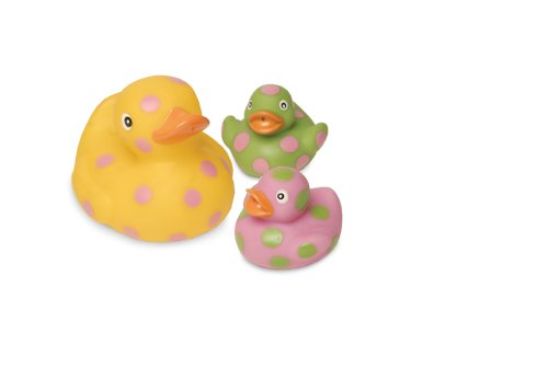 Mud Pie Baby E-I-E-I-O Rubber Duck Light-Up Toy Set front-556914