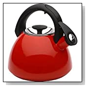 OXO Good Grips Click Click Tea Kettle, Red
