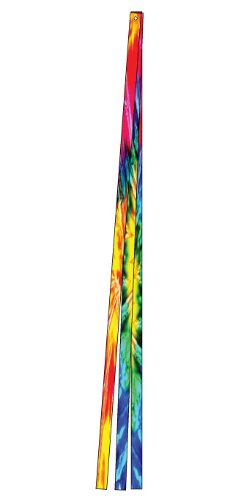 In the Breeze Tie Dye Kite Tail Set, 15-Feet