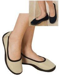 Seamless S-T-R-E-T-C-H Shoe, Color Tan, Size 08 M