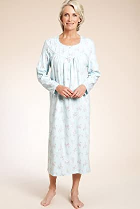 Pure Cotton Floral Pintuck Nightdress