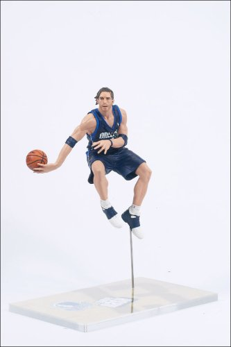 McFarlane Toys NBA Sports Picks Series 5 Action Figure Steve Nash Blue Jersey (Steve Nash Action Figure compare prices)