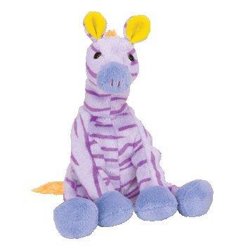 TY Beanie Baby - VEGAS the Zebra (Circus Beanie)