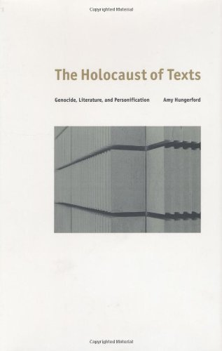 The Holocaust of Texts: Genocide, Literature, and Personification