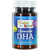 Kids Chewable DHA Bubble Gum Carlson Laboratories 120 Softgel
