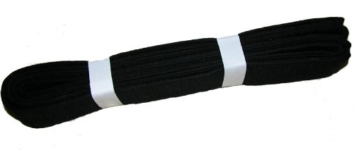 Karate Martial Arts Belt BLACK - Junior