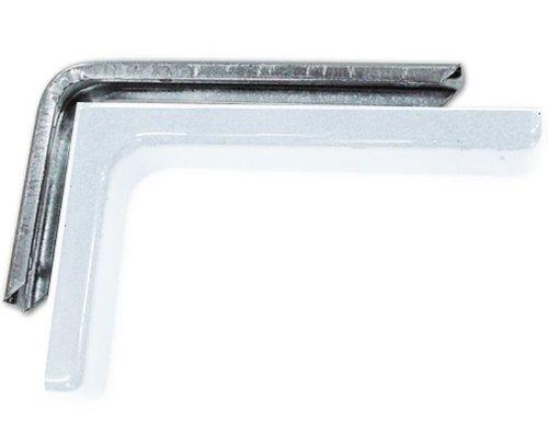 Bücherregal Möbel mit PVC-Carter Weiß 12 cm 2 Stück