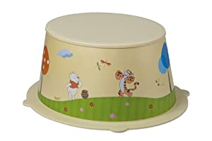 Rotho 20216016575 STyLE - Taburete infantil con diseño de Winnie the Pooh - BebeHogar.com